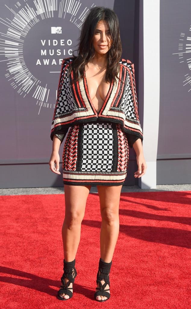 Kim kardashian red carpet 2014