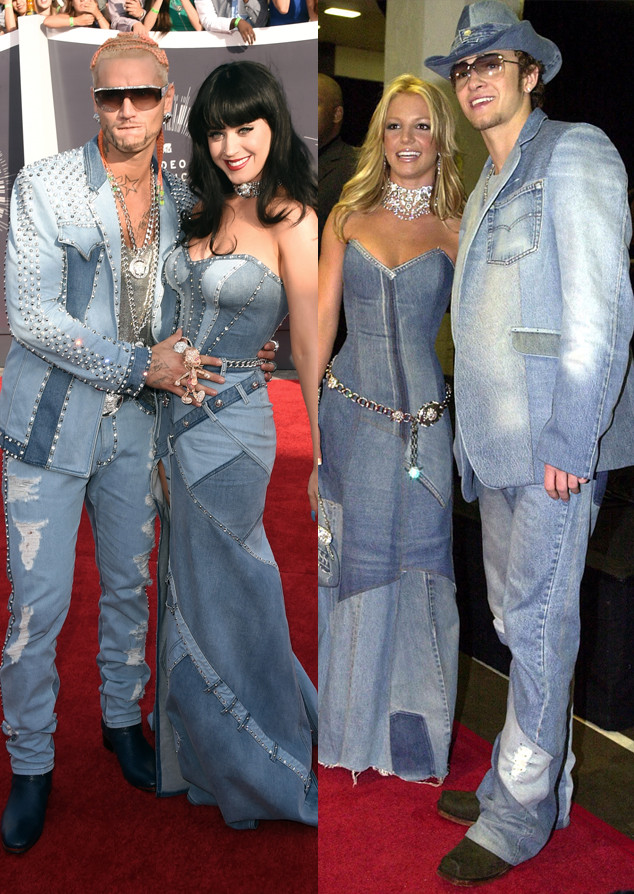 Katy Perry, Riff Raff, Justin Timberlake, Britney Spears, MTV VMA's 2014