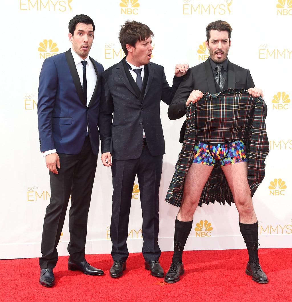 Drew Scott J D Jonathan Silver Emmy Awards 2017
