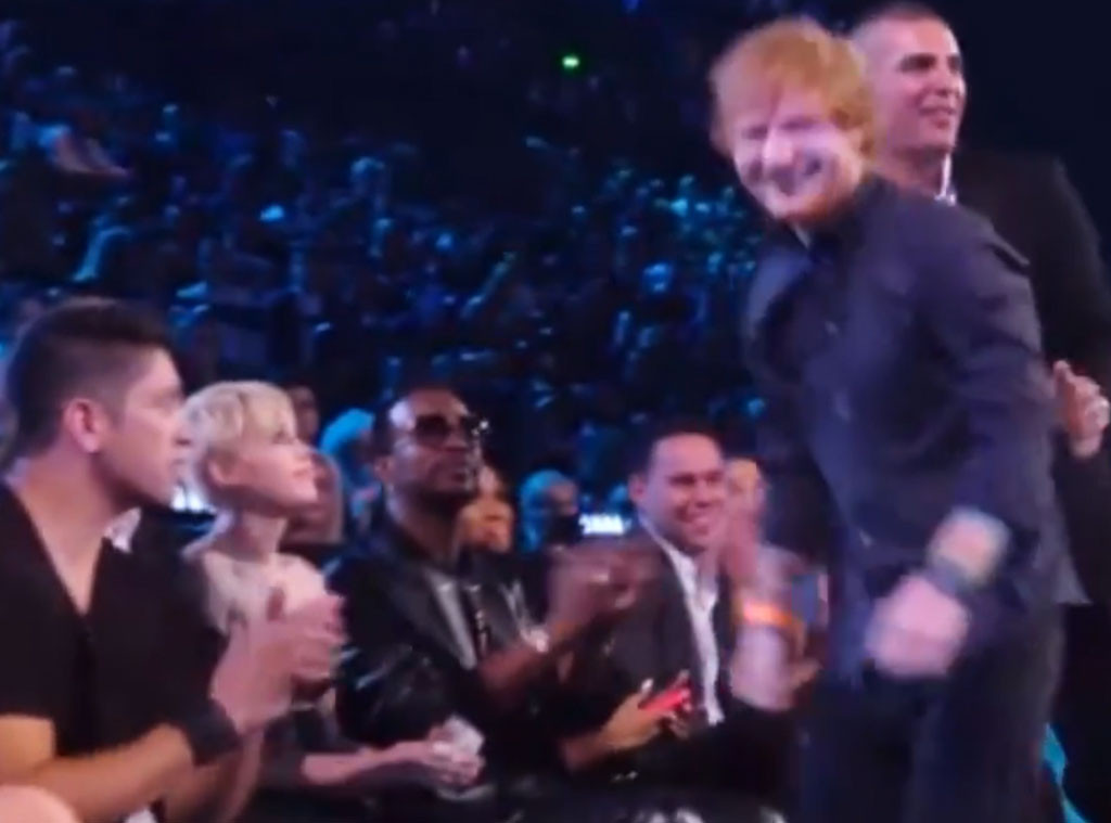 Ed Sheeran, Miley Cyrus, 2014 MTV VMA's