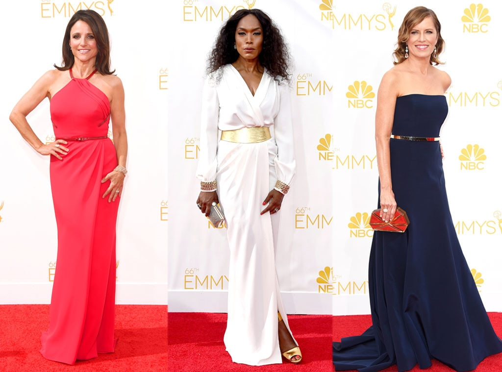 Belts, Julia Lous Dreyfus, Kim Dickens, Angela Bassett, Emmy Awards 2014