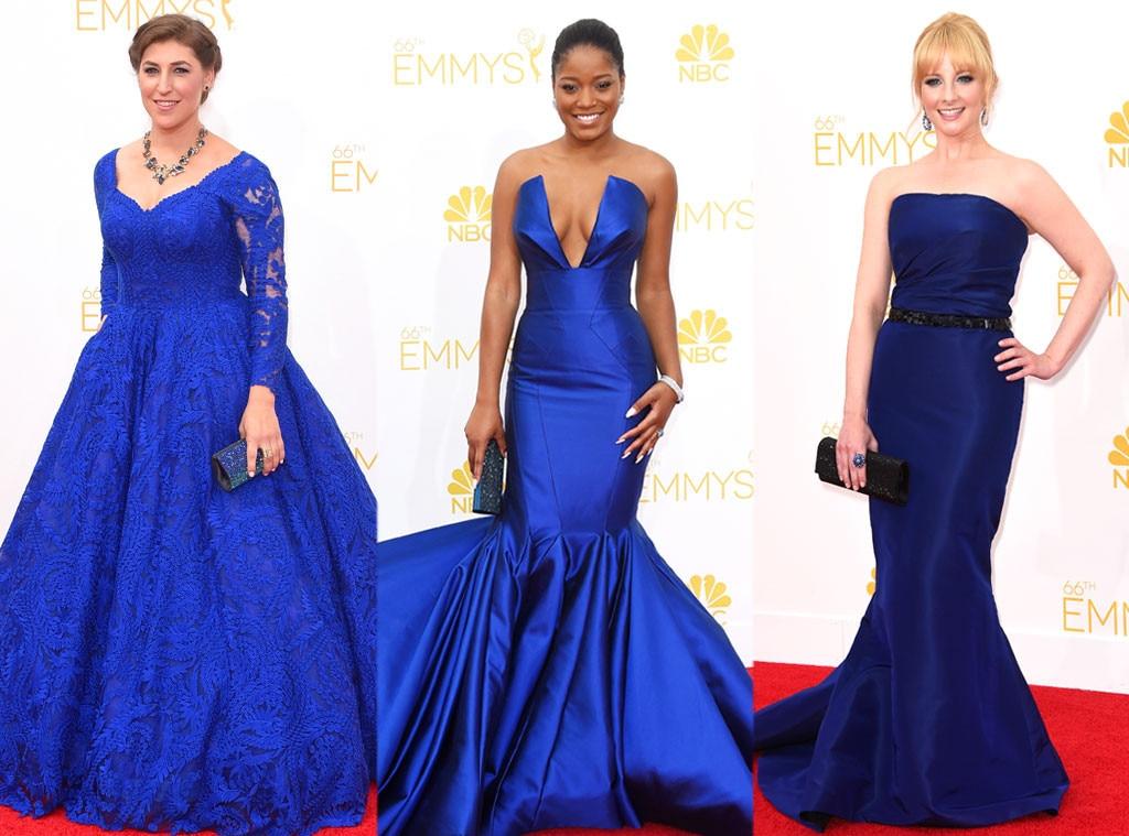 Cobalt Blue, Maiym Bialik, Melissa Rauch, Keke Palmer, Emmy Awards 2014