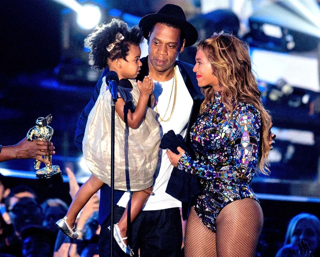 Jay Z, Beyonce, Blue Ivy, MTV VMAs 2014