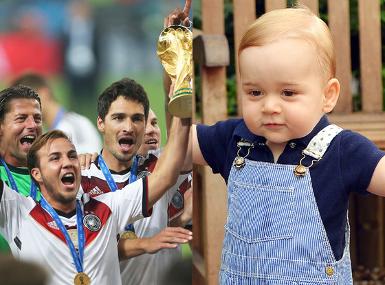 Prince George, World Cup