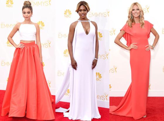 Sarah Hyland, Laverne Cox, Heidi Klum, Emmy Awards 2014