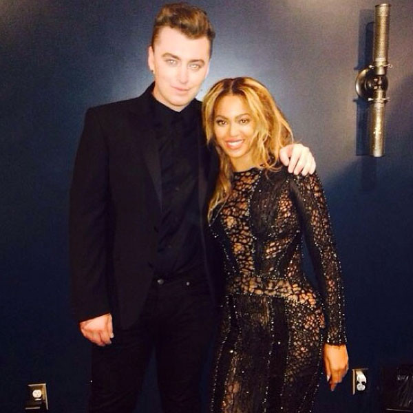 Sam Smith, Beyonce, Instagram
