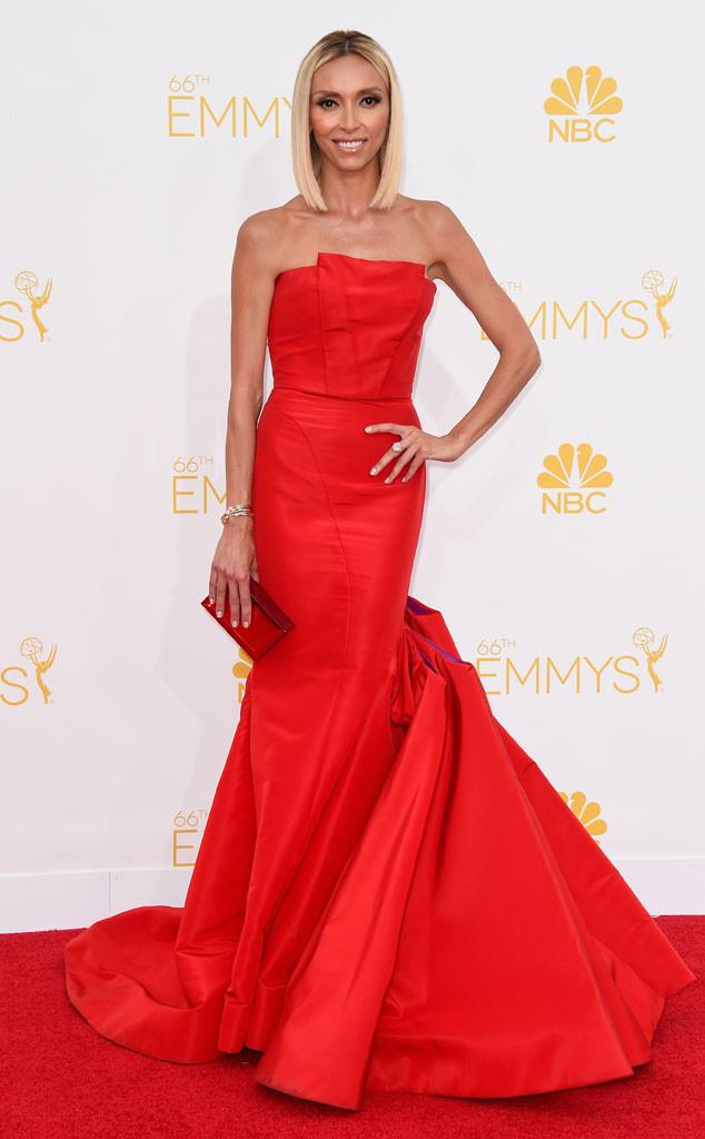 Giuliana Rancic, 2014 Emmy Awards
