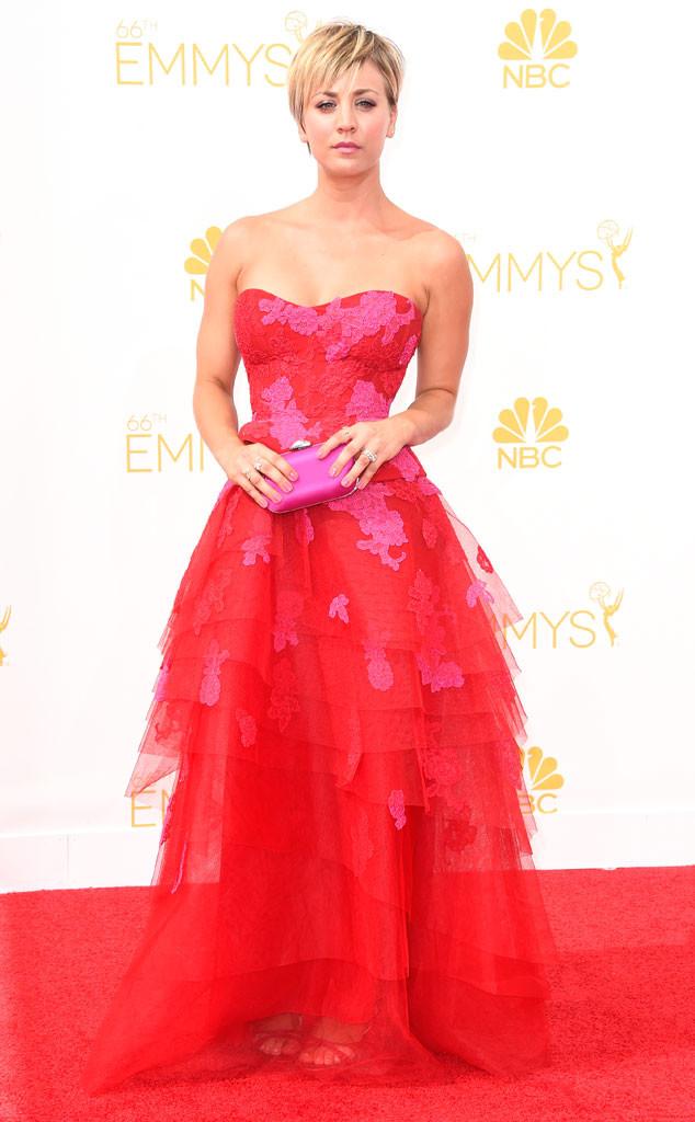 Kaley Cuoco-Sweeting, Emmy Awards 2014