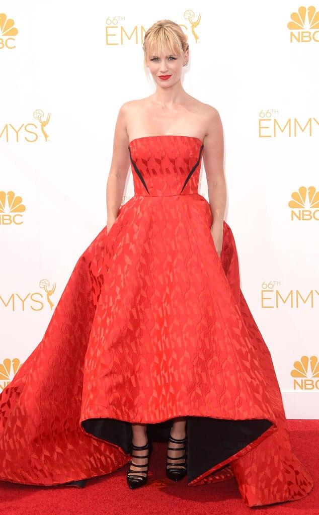 January Jones, Emmy Awards 2014