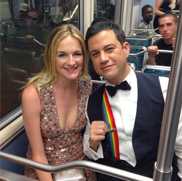 Jimmy Kimmel, Emmy Twit Pics, Subway