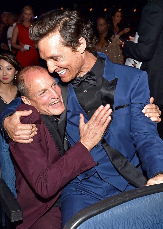 Woody Harrelson Amp Matthew Mcconaughey From 2014 Emmys