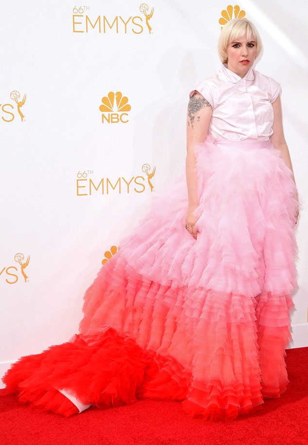 Lena Dunham, Emmy Awards 2014