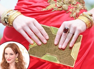 Christina Hendricks, Emmy Awards 2014, Jewelry