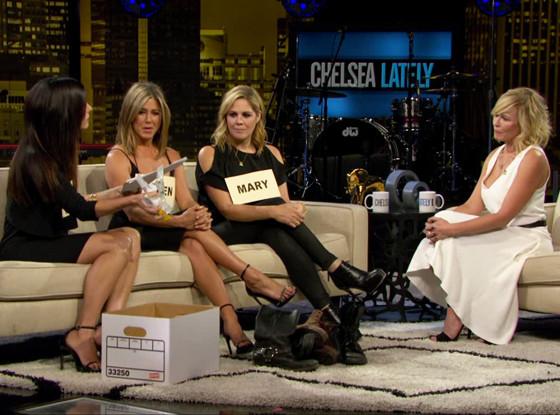 Jennifer Aniston, Sandra Bullock