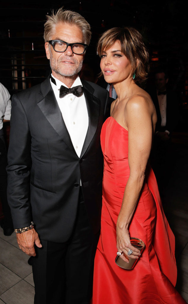 Harry Hamlin, Lisa Rinna, 2014 Emmy's, Party Pics