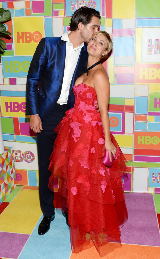 Kaley Cuoco, Ryan Sweeting, 2014 Emmy's, Party Pics