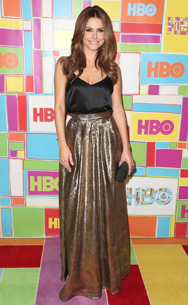 Maria Menounos, Emmy Awards, After Party Dresses