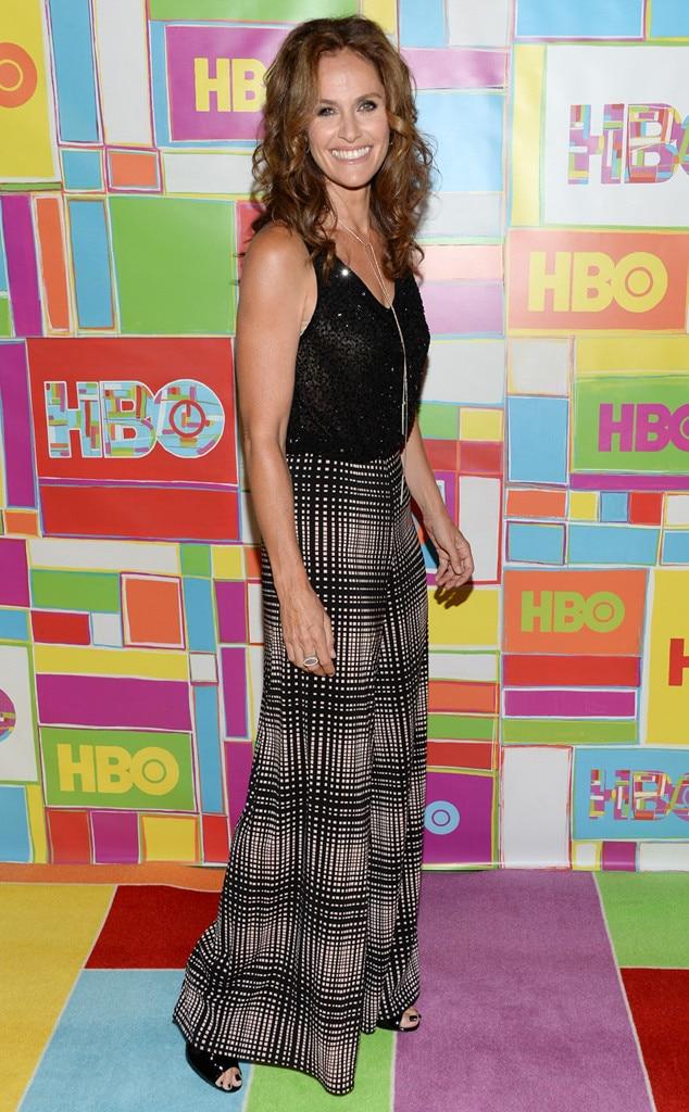 Amy Brenneman, Emmy Awards After Party