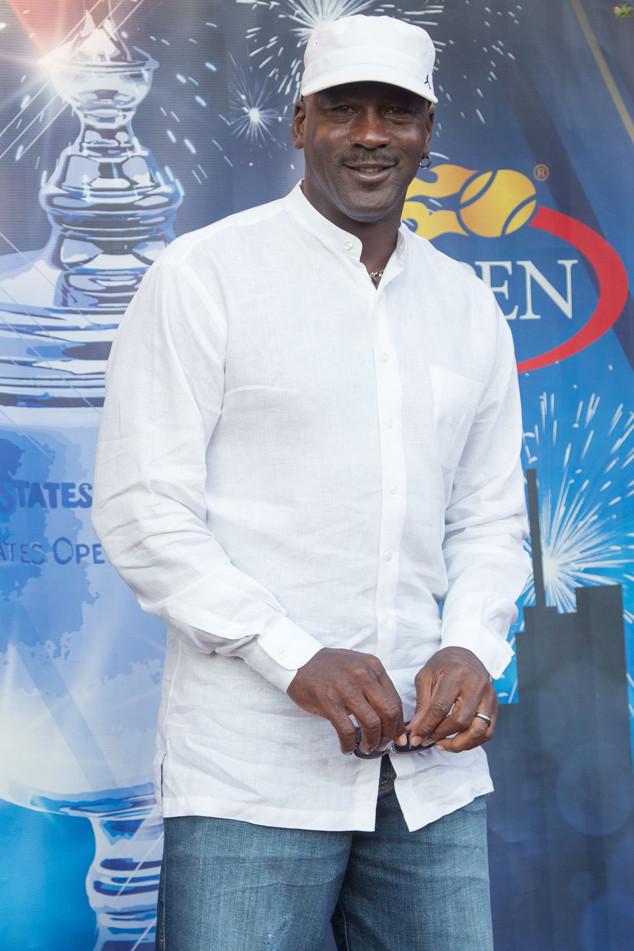Michael Jordan, US Open Star Sightings