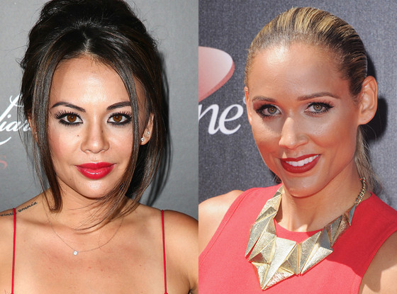 Lolo Jones, Janel Parrish