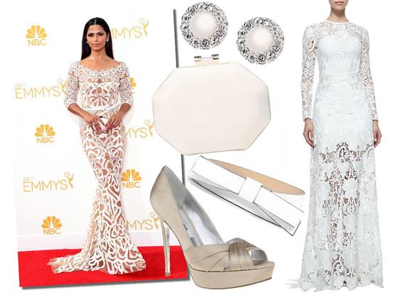 Camila Alves, Emmy Awards 2014, Ask a Stylist