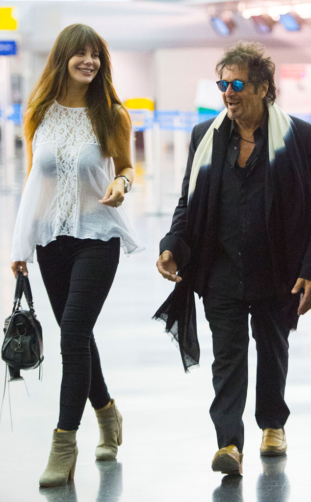 Al Pacino, 74, Is All Smiles With 35-Year-Old Girlfriend ...