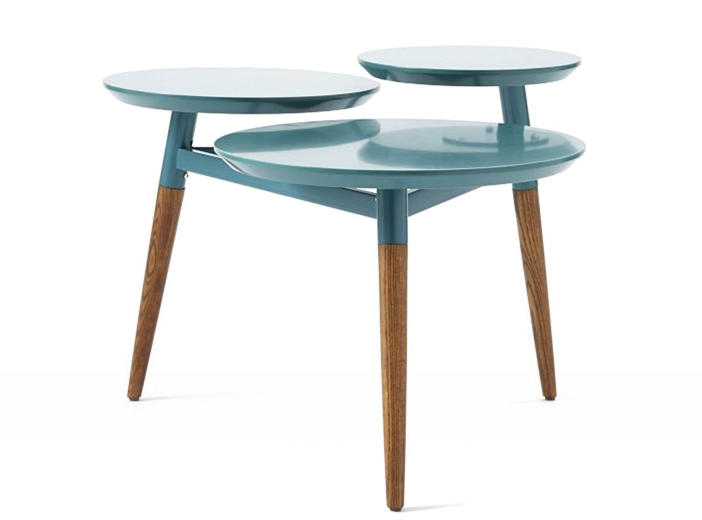 West Elm Tier Coffee Table From Drab To Fab Décor Finds To - West elm clover coffee table