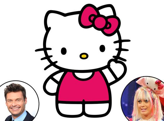 Hello Kitty, Katy Perry, Ryan Seacrest