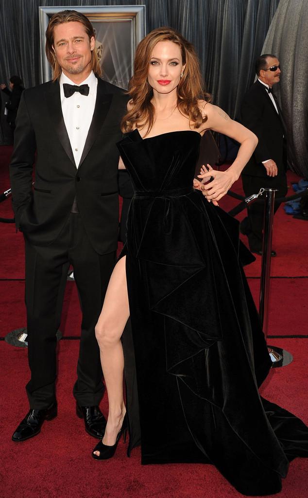 Brad Pitt, Angelina Jolie, Oscars Chic, Oscars Couples