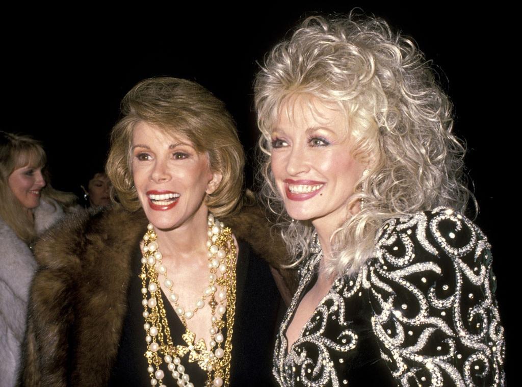 Joan Rivers, Dolly Parton, Famous Friends