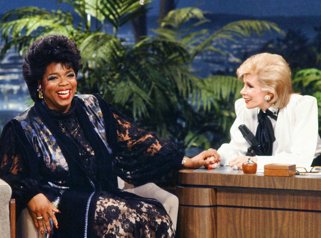 Joan Rivers, Oprah Winfrey, Famous Friends