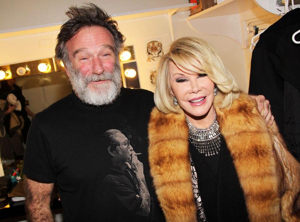 Joan Rivers, Robin Williams, Famous Friends