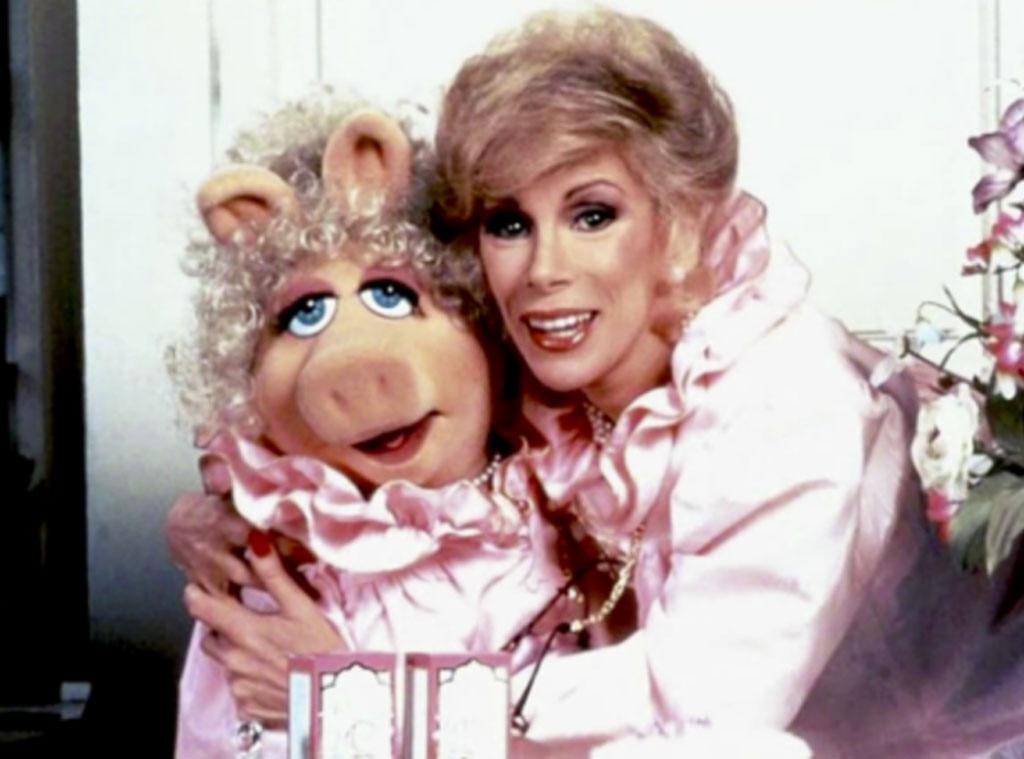 Miss Piggy, Joan Rivers, Muppets Take Manhattan, Famous Friends