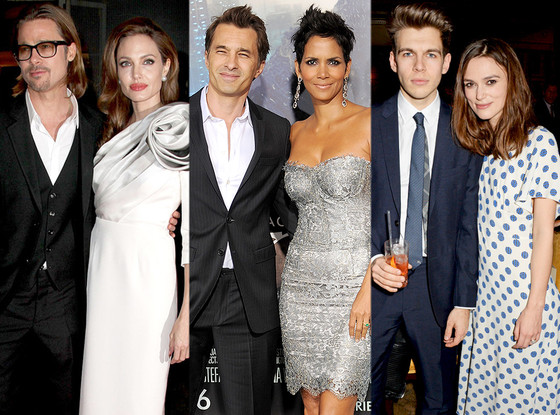 Brad Pitt, Angelina Jolie, Halle Berry, Olivier Martinez, Keira Knightle, James Righton