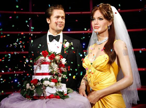 Brad Pitt, Angelina Jolie, Madame Tussauds
