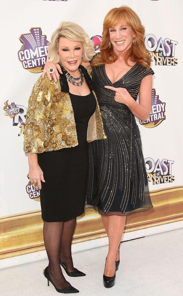 Joan Rivers, Kathy Griffin, Famous Friends