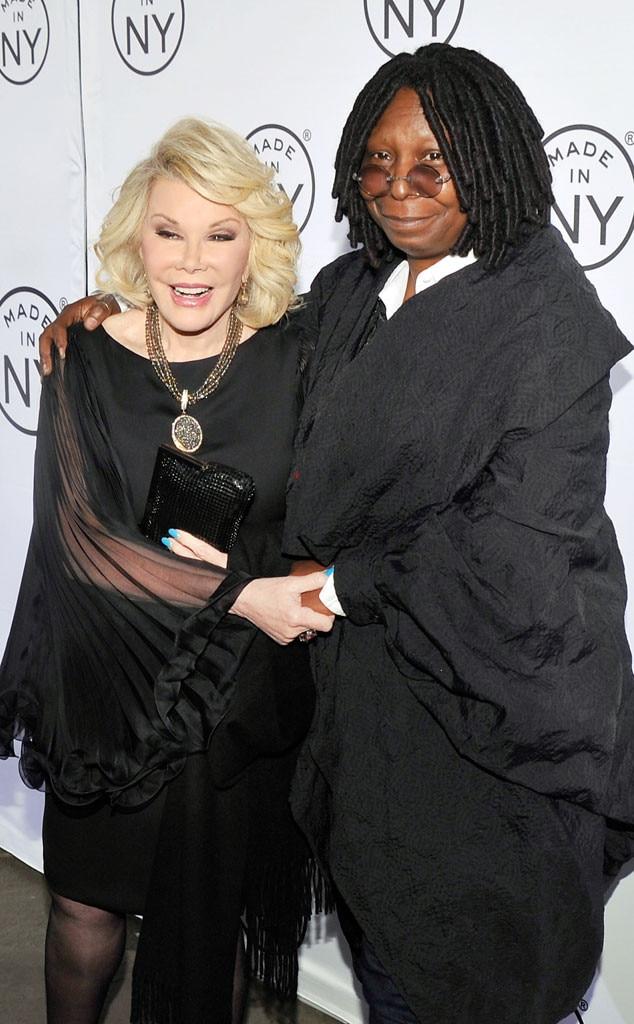 Joan Rivers, Whoopi Goldberg, Famous Friends