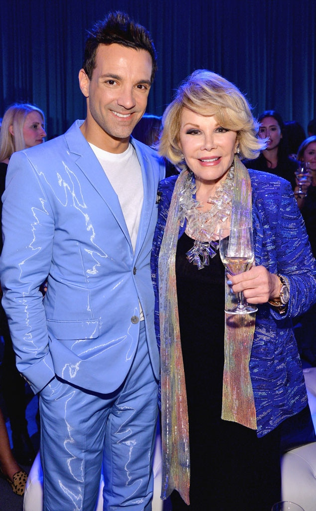 Joan Rivers, George Kotsiopoulos, Famous Friends