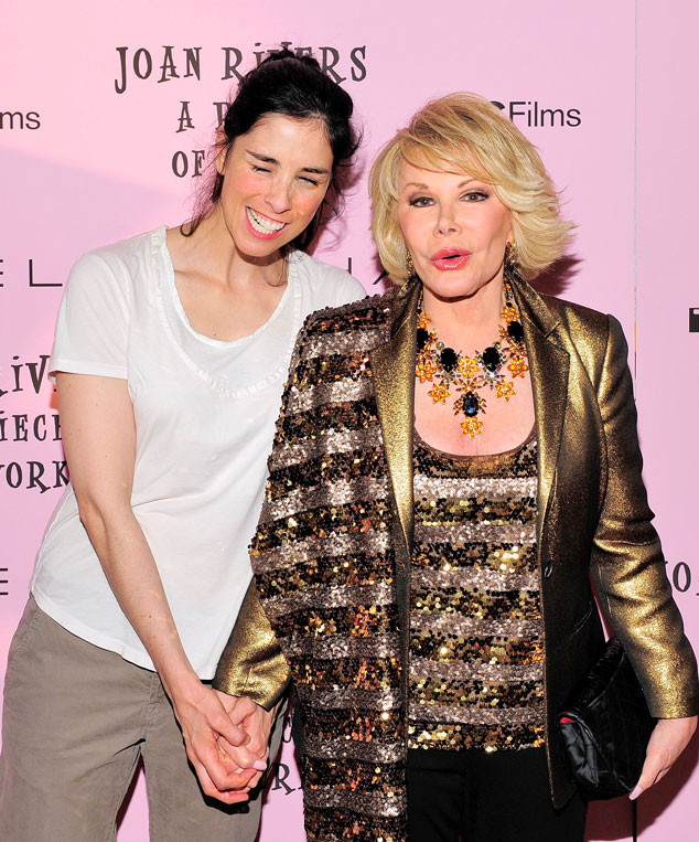 Joan Rivers, Sarah Silverman, Famous Friends