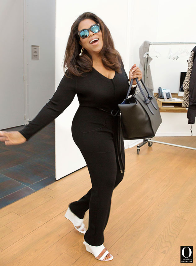 Oprah Winfrey Wows In A Catsuit E News