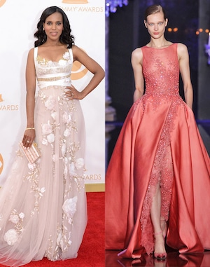 Kerry Washington, Emmy Dress Predictions