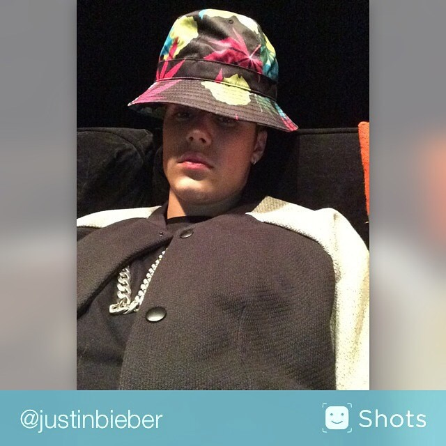 Justin Bieber and His Many Hats