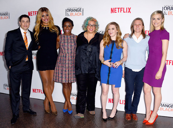 Orange Is The New Black, Jason Biggs, Laverne Cox, Uzo Aduba, Jenji Kohan, Natasha Lyonne, Cindy Holland, Taylor Schilling