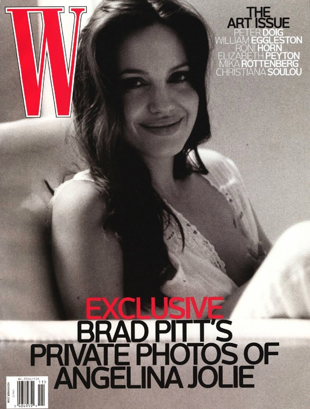 Angelina Jolie, W Magazine, Breastfeeding