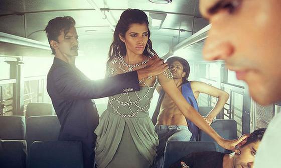 The Wrong Turn, Raj Shetye, Fashion Ad