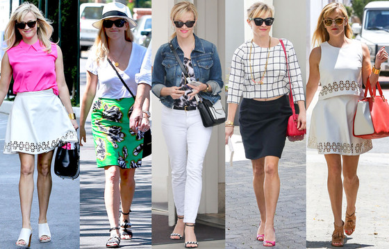 Reese Witherspoon Summer Street Style