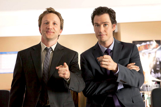 Franklin and Bash, Mark-Paul Gosselaar, Breckin Meyer