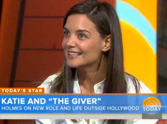 Katie Holmes, Today Show