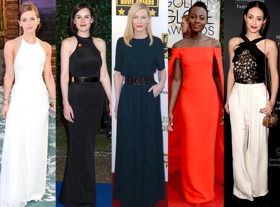 Lupita Nyong'o, Emma Watson, Cate Blanchett, Michelle Dockery, Emmy Rossum
