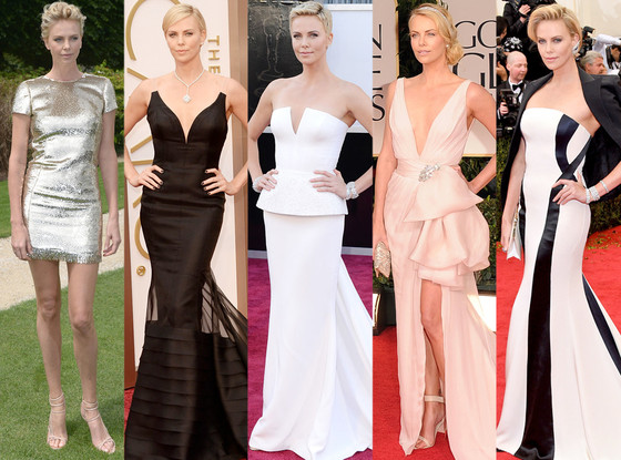 Charlize Theron, Best Red Carpet Looks